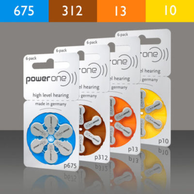 phonak batteries